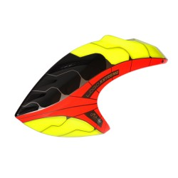 Canopy, neon red-yellow (Logo 800 XXTREME)