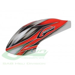 Canomod Airbrush Canopy Red/White - Goblin 500 [H0271-S]
