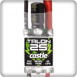 Castle Creations Talon 25 ESC 2S-6S Max 25A, BEC 5,5v 18gram