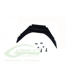 Plastic Landing Gear Support (1pc) - Goblin 500/570 [H0350-S]