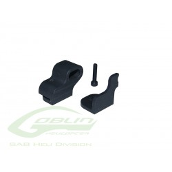Plastic Carbon Rod Support - Goblin 570 [H0394-S]