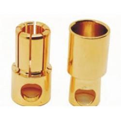 kontakter, 8 mm (1 par)