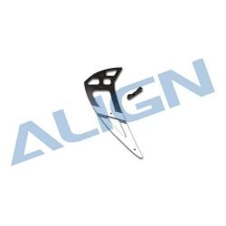 550L Carbon Fiber Vertical Stabilizer-White H55T002XXW