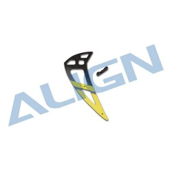 550L Carbon Fiber Vertical Stabilizer-Yellow H55T003XXW