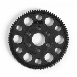 XRAY Spur Gear Offset Hard 81T 48P