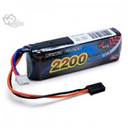 Vapex Li-Po Receiver battery 7.4V 2200mAh 10C / Futaba