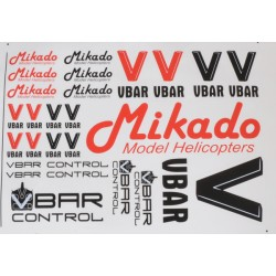 Mikado VBar / VControl decal set