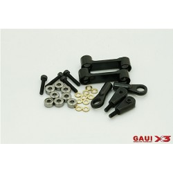 X3 CNC Washout Arm Assembly (Black anodized)