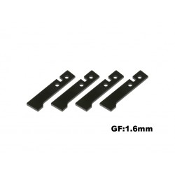 X5 fiber Caonpy Plate (Set of 4)(1.6mm)