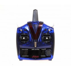 VBar Control Radio, blue transparent