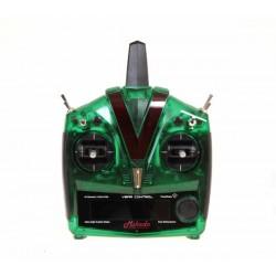 VBar Control Radio, green transparent