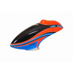 Neon Red Blue Canopy LOGO 600 SX - V2