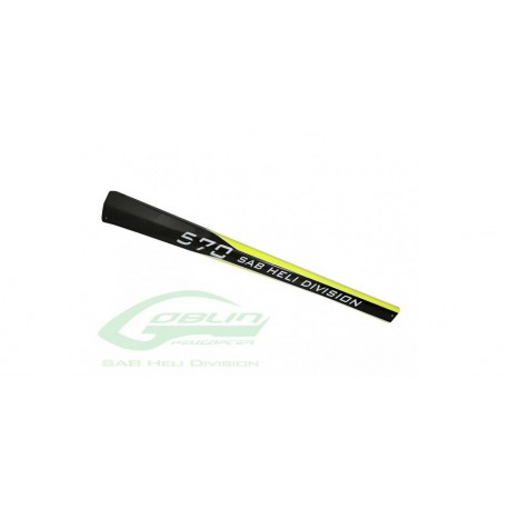 TAIL BOOM GOBLIN 570 YELLOW CARBON