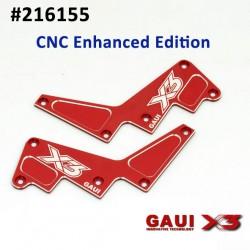 X3 CNC Frame reinforcement plate
