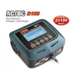 SkyRC D100 200W Laddare AC/DC