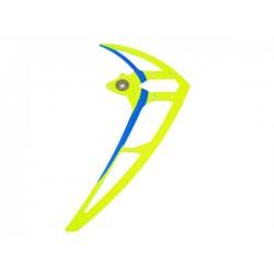 Vertical stabilizer neon yellow
