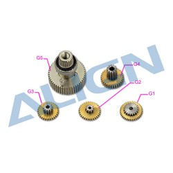DS615S Servo Gear Set