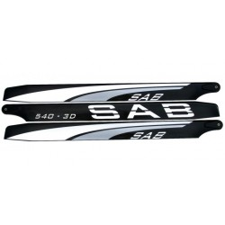 SAB Blackline MAIN BLADES 540 mm Triblades 3D