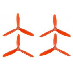 DAL 5x4.5 Triblade Orange
