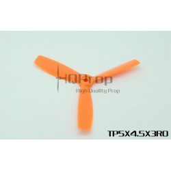 HQ 5X4,5X3 Bullnose Trebladig 2st CW Glasfiberförstärkt Orange (5X4.5X3RO)