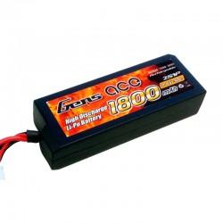 Gens ace 1800mAh 7.4V 30C 2S1P HardCase Lipo Battery 27