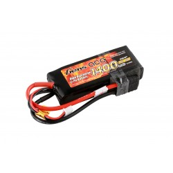 Gens ace 1400mAh 11.1V 25C 3S1P Lipo with Original TRX Connector