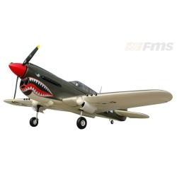 FMS P-40 Warhawk Grön FMS PNP 1440mm spv.