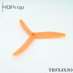 HQ 5X4X3 Trebladig 2st CCW Glasfiberförstärkt Orange (5X4X3O)
