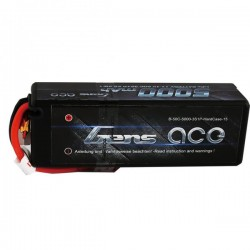 Gens ace 5000mAh 11.1V 50C 3S1P HardCase Lipo Battery 15 with new packing