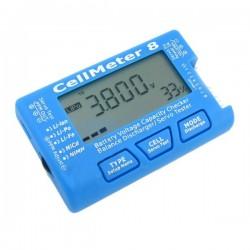 Cellmeter 8 Lipo/ Servo testare/balaserare 2-8S