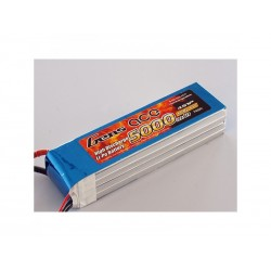 Gens ace 5000mAh 14.8V 45C 4S1P lipo battery