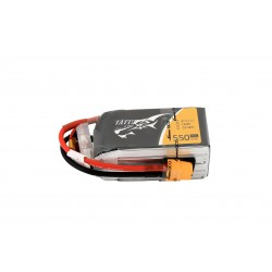 TATTU 1550mAh 11.1V 75C 4S1P Lipo Battery Pack