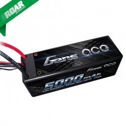 Gens ace 5000mAh 14.8V 50C 4S1P HardCase Lipo Battery nr 14