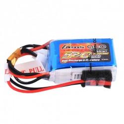 Gens ace 520mAh 11.1V 30C 3S1P Lipo Battery Pack