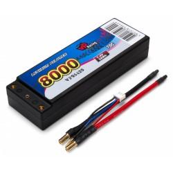 Vapex Li-Po Batteri 2S 7,4V 8000mAh 70C EFRA2016