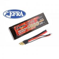 Gens ace 5000mAh 2S 7.4V 50C HardCase RC car Lipo battery nr 10 (EFRA approved)