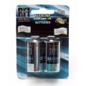 Alkaline-batteri C (LR14) 2-pack