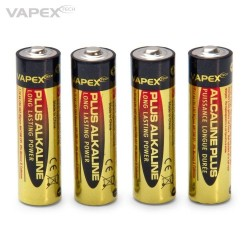 Vapex Alkaline Plus Batteri AA 4-pack