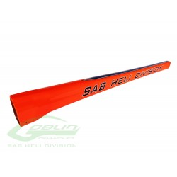 Orange Tail Boom - Goblin 570 Sport