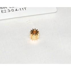 Motordrev 11T 2,3mm M0,4