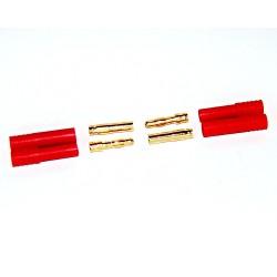 HXT-kontakter, 4mm (1 par)