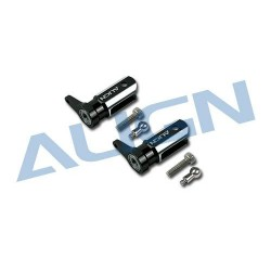 Metal Main Rotor Holder Set/Black H25003A (T-rex 250)