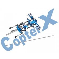 Komplett rotorhuvud, metall (CX 450PRO)