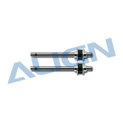 Metal Tail Rotor Shaft Assembly H25075 (T-rex 250)