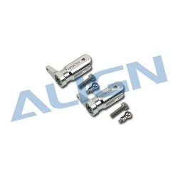 Metal Main Rotor Holder Set/Silver H25003AF (T-rex 250)