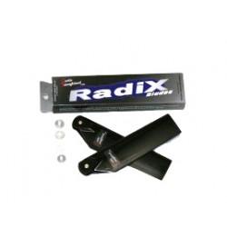 Radix 92 mm stjärtrotorblad, kolfiber
