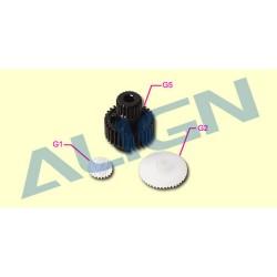 Drevsats till Align DS410 (tre plastdrev)
