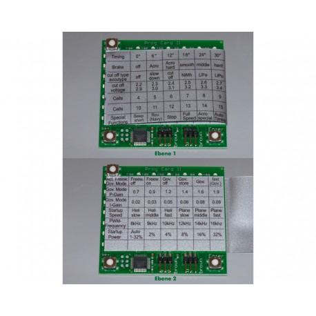 YGE Programmeringskort (Prog-Card III)