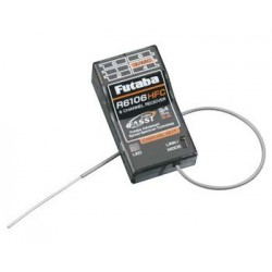 Futaba R6106HFC 6-Channel 2.4GHz FASST Receiver