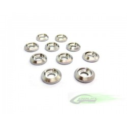 Aluminum Finishing Washers (10pcs) - Goblin 500/630/700/770 [H0007-S]